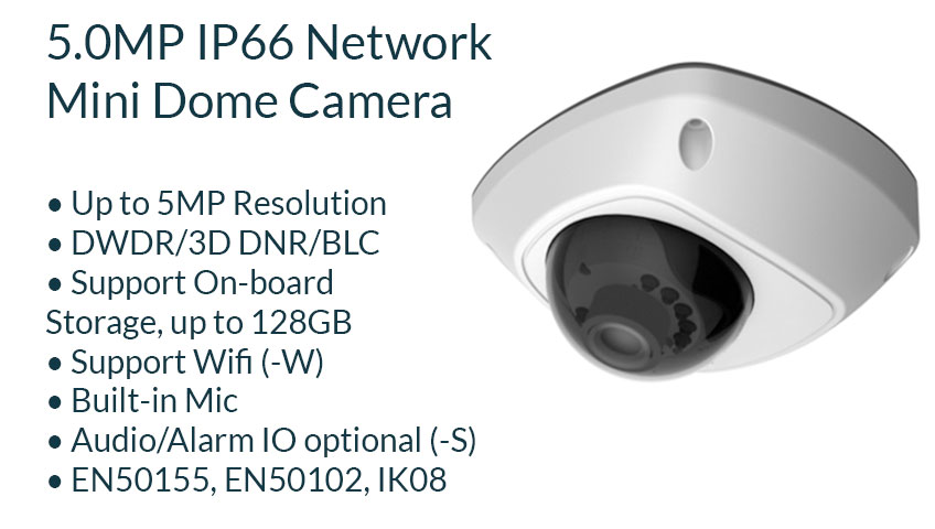 cctv security surveillance camera system 5 mp mini dome camera with microphone mic