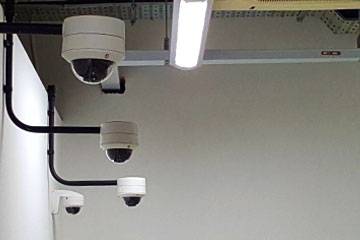 cctv security surveillance solution systems high security buildings bank singapore