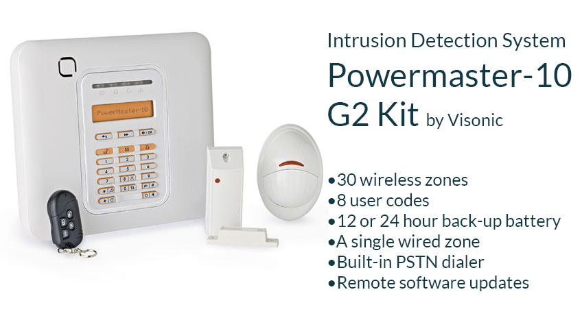 intrusion detection system visonic powermaster tyco alarm system security solution residential home hdb condo landed singapore