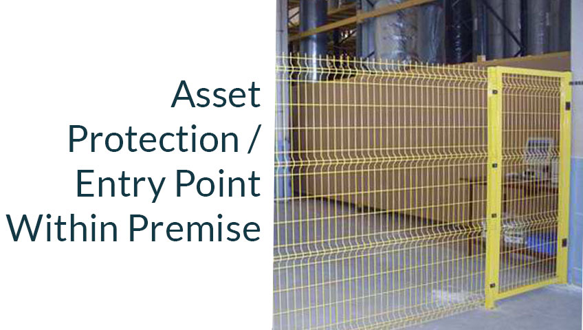 perimeter fencing warehouse factory asset protection singapore security solution