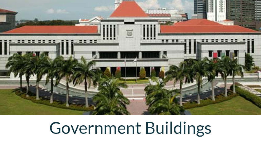 visitor management system security solution business buildings in singapore client private government building